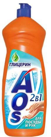 Жидкость для мытья посуды AOS Глицерин, 1 л400-3Жидкость для мытья посуды AOS Глицерин эффективно удаляет любые загрязнения даже в холодной воде. Благодаря новой сбалансированной формуле средство отлично пенится и легко смывается, придает посуде кристальный блеск, после ополаскивания не оставляет разводов. Смягчает и увлажняет кожу рук.