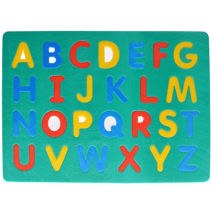 Мягкая мозаика Флексика Английский алфавит45344Мягкая мозаика Флексика Английский алфавит надолго займет внимание вашего ребенка. В комплект входят основа и 26 элементов, выполненных в виде букв английского алфавита из современного, легкого, эластичного и прочного материала, который обеспечивает удивительную долговечность и, главное, является абсолютно безопасным для детей. Мозаика настолько универсальна и практична, что с ней можно играть практически везде. Благодаря особой структуре материала и свойству прилипать к мокрой поверхности, она является идеальной игрушкой для ванны. Мягкая мозаика Флексика Английский алфавит способствует развитию у ребенка мелкой моторики, памяти, образного и логического мышления, наблюдательности, а также знакомит с английским алфавитом.