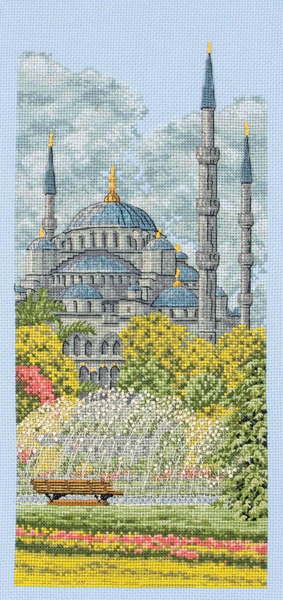 """крестом """"Голубая мечеть"""","""