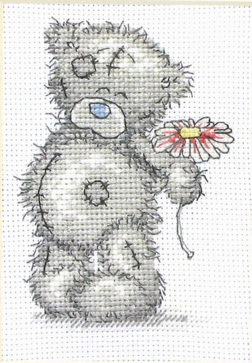 Набор для вышивания крестом Цветок для тебя, 11 х 8 смTT01В наборе для вышивания крестом Цветок для тебя есть все необходимое для создания роскошной интерьерной картины: обработанная канва Аида 14 белого цвета, хлопковые нитки мулине, символьная схема, 1 игла, инструкция по вышиванию на русском языке. Необычайной красоты рисунок-вышивка с изображением милого медвежонка Тедди с цветочком в лапах привлечет к себе внимание и будет потрясающе смотреться в интерьере вашего помещения, особенно в интерьере детской комнаты. Вышивание крестом отвлечет вас от повседневных забот и превратится в увлекательное занятие! Работа, сделанная своими руками, создаст особый уют и атмосферу в доме, и долгие годы будет радовать вас и ваших близких.