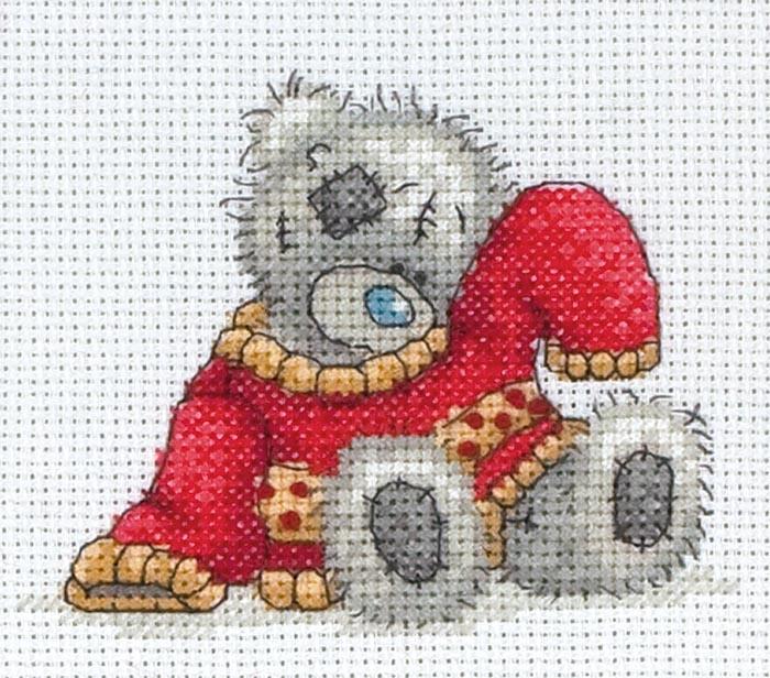 Вышивка крестом teddy