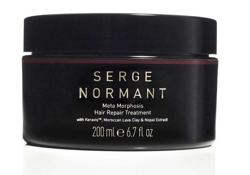 Serge Normant Маска для волос Meta Morphosis, востанавливающая, 200 мл1396418165Специальная интенсивная формула восстанавливает сухие, ломкие, безжизненные волосы, волосы, подверженные химической обработке. Протеин укрепляет и увлажняет кутикулу волоса для предотвращения ломкости и придания шелковистости. Экзотическая смесь из марокканской вулканической глины и экстракта кедра из Атласских гор Марокко, а также экстракта кактуса очищает и восстанавливает волосы от корней до кончиков. Марокканская вулканическая глина нормализует работу сальных желез.