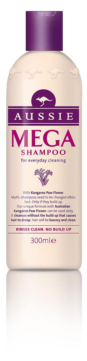 Aussie Шампунь Mega, для ежедневного использования, 300 мл81463509МЕГА-уход, МЕГА-блеск, МЕГА-аромат каждый день! Ни дня без МЕГА-волос! Используй шампунь Aussie Mega и другие средства из этой коллекции каждый день, и они с легкостью подготовят волосы любого типа к выходу в свет! Все, что накопилось за день - городская пыль или средства укладки - исчезают без следа, уступая место великолепным, блестящим и упругим волосам без электризации и без проблем! Все благодаря экстракту австралийских цветков Кенгуровой Лапки, который питает волосы, наполняя их счастьем, от чего волосы, как и люди, проявляют свои лучшие качества. А аромат! Скажем прямо, все ароматы Aussie великолепны, но MEGA аромат – это что-то особенное. - Шампунем Aussie Mega с экстрактом Кенгуровой лапки (это цветок) можно и нужно пользоваться каждый день, чтобы волосы всегда были полными жизненной энергией и блеском. Способ применения: Намочите волосы. Нанесите шампунь. Смойте теплой водой. Можете повторить, если хотите. И не забудьте про...
