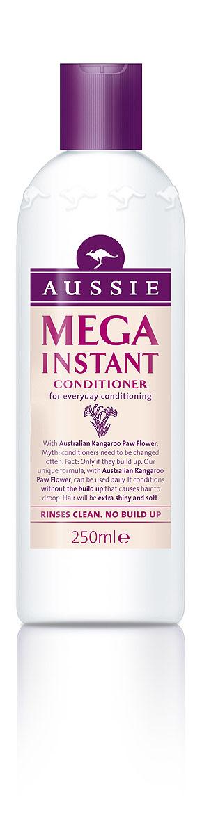 Aussie Бальзам-кондиционер Mega Instant, для ежедневного использования, 250 мл81463517МЕГА-уход, МЕГА-блеск, МЕГА-аромат каждый день! Ни дня без МЕГА-волос! Используй шампунь Aussie Mega и другие средства из этой коллекции каждый день, и они с легкостью подготовят волосы любого типа к выходу в свет! Все, что накопилось за день - городская пыль или средства укладки - исчезают без следа, уступая место великолепным, блестящим и упругим волосам без электризации и без проблем! Все благодаря экстракту австралийских цветков Кенгуровой Лапки, который питает волосы, наполняя их счастьем, от чего волосы, как и люди, проявляют свои лучшие качества. А аромат! Скажем прямо, все ароматы Aussie великолепны, но MEGA аромат – это что-то особенное. - Бальзам-ополаскиватель Aussie Mega - никаких электризующихся и безжизненных волос, никакой необходимости использовать еще что-то. Великолепная формула поможет сделать волосы более мягкими и блестящими. Способ применения: Нанесите на чистые волосы. Смойте теплой водой. Для наилучших результатов...