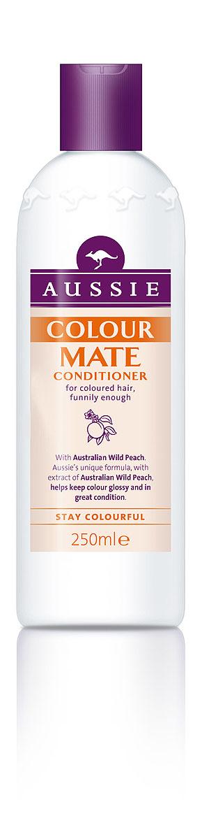 Aussie Бальзам-кондиционер Colour Mate, для окрашенных волос, 250 мл81446440Окрашенные волосы яркие, как и ты сама! Говорят, ничто не может длиться вечно, но мы считаем, что окрашенные волосы должны как можно дольше не терять яркости и лучезарного блеска. Aussie Colour Mate помогает защитить волосы от повреждений при окрашивании, сохраняет их живыми и соблазнительно яркими. Для этого в нем содержится целый ряд ценных ингредиентов, в том числе и экстракт Австралийского дикого персика, защитные свойства которого были известны еще австралийским аборигенам. А уж они-то кое-что понимали в том, как защитить свои волосы, даже если до ближайшей тени десятки километров. - Бальзам-ополаскиватель Aussie Colour Mate с экстрактом австралийского дикого персика защищает волосы и сохраняет их цвет насыщенным, соблазнительно ярким. Способ применения: Нанесите на влажные чистые волосы после шампуня Aussie Colour Mate. Промойте теплой водой... Наслаждайтесь живыми и соблазнительно яркими волосами.