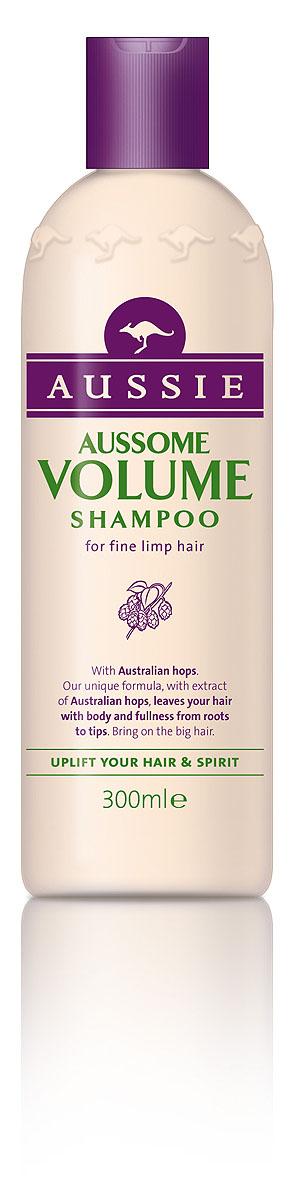 Aussie Шампунь Aussome Volume, для тонких волос, 300 мл81446435Супер-объем для легких на подъем! Некоторым волосам объем можно придать всего двумя способами: либо отменить гравитацию, либо позволить им немного захмелеть. Над первым способом мы продолжаем работать, а вторым уже можно пользоваться. Специальный шампунь Aussie Aussome Volume с экстрактом австралийского хмеля сделает волосы объемными и упругими, оживит и приподнимет даже тусклые и тонкие волосы. Так что поверь, даже если ты не любишь пиво, хмельной объем в волосах тебе точно понравится. - Шампунь Aussie Aussome Volume с помощью австралийского хмеля придаст волосам такой роскошный объем, что они почувствуют себя звездами. Способ применения: Откройте бутылку, нанесите шампунь на мокрые волосы, глубоко вдохните и насладитесь восхитительным ароматом. Промойте водой. Для по-настоящему большого объема используйте вместе с бальзамом-ополаскивателем Aussie Aussome Volume.