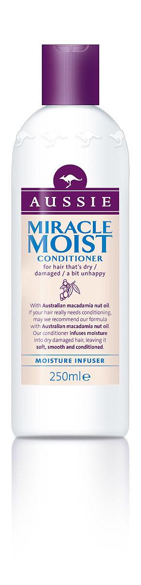 Aussie Бальзам-кондиционер Miracle Moist, для сухих, поврежденных волос, 250 мл81446439Сухим волосам - мягкий характер! Твои волосы погибают от жажды? Не волнуйся, коллекция Miracle Moist – настоящее спасение для жаждущих! Австралийский орех Макадамия не просто так стал самым дорогим орехом в мире. Он буквально до краев наполнен питательными маслами. Именно поэтому экстракт Макадамии входит в состав особой формулы Aussie Miracle Moist, которая увлажняет волосы, разглаживает их поврежденную поверхность и обеспечивает надежной защитой от твоих будущих парикмахерских экспериментов. Даже самые сухие и поврежденные волосы превращаются в мягкие, гладкие и послушные локоны. - Бальзам-ополаскиватель Aussie Miracle Moist увлажняет волосы, делая их гладкими и ласковыми. Способ применения: Для наилучшего результата мы предлагаем начать с шампуня Aussie Miracle Moist, а затем использовать этот потрясающий бальзам-ополаскиватель. Далее промойте волосы теплой водой. Состав: Aqua, Cetearyl Alcohol, Behentrimonium Chloride, Cetyl Esters, Acetamide...