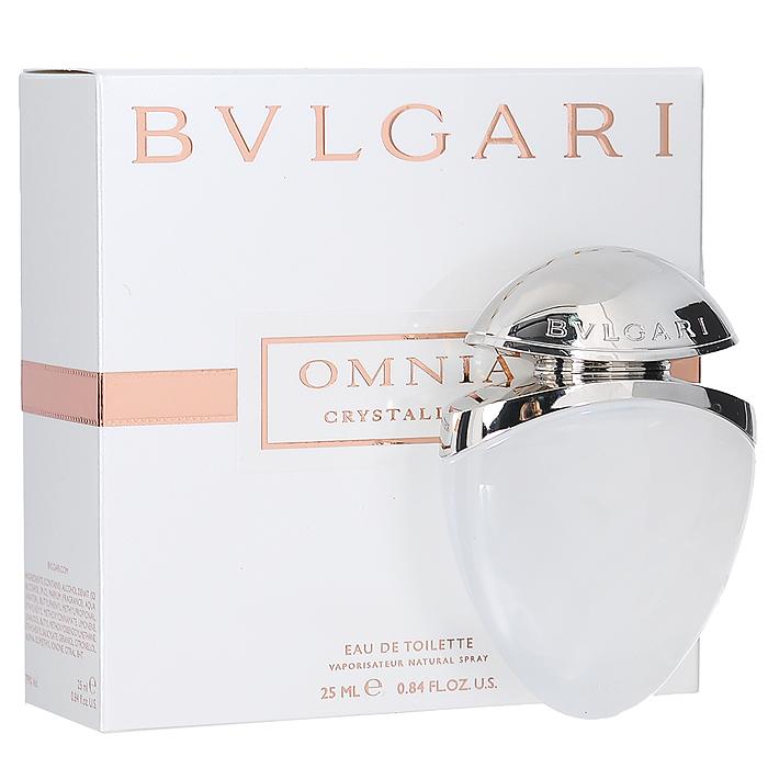 "Bvlgari Туалетная вода ""Omnia Crystalline"", женская, 25 мл ювелирная коллекция"