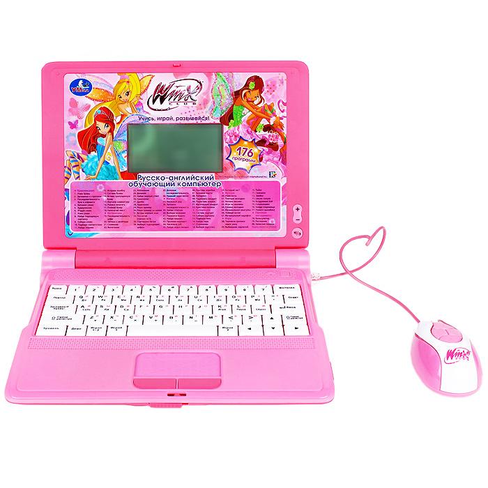 Умка Обучающий компьютер Winx цвет розовый