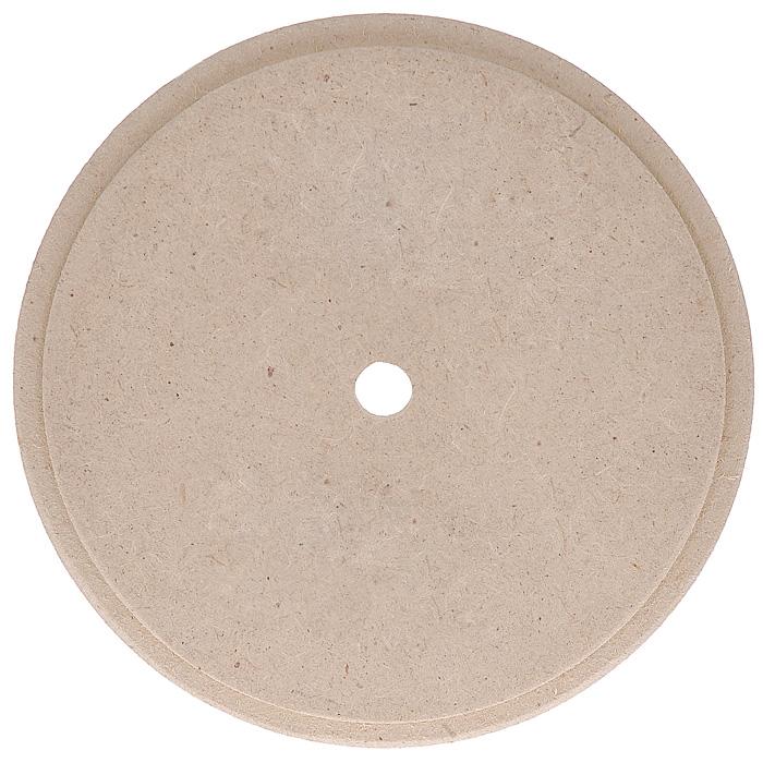 Заготовка для часов Кустарь, с фаской по краю, диаметр 15 смAH6140129Качественная заготовка для часов Кустарь, выполненная из МДФ, предназначена для занятий декупажом. Заготовка имеет круглую форму и снабжена фаской по краю. Декупаж - техника декорирования различных предметов, основанная на присоединении рисунка, картины или орнамента (обычного вырезанного) к предмету, и, далее, покрытии полученной композиции лаком ради эффектности, сохранности и долговечности.