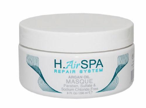 H.AirSPA Маска Argon Oil на масле арганы, 236 млHS84Интенсивная маска H.AirSPA Argon Oil создана для глубокого восстановления и увлажнения поврежденных волос. При регулярном использовании возвращает волосам блеск и эластичность. Характеристики: Объем: 236 мл. Артикул: HS84. Производитель: США. Товар сертифицирован.