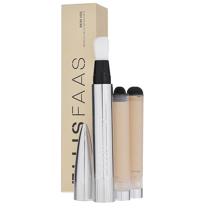 Ellis Faas Тональная основа Skin Veil, тон №S103, 2 х 7 мл8718104160668Тональная основа Ellis Faas Skin Veil придает коже безупречный оттенок, легко наносится, ложится тонким слоем, не забивает поры и не создает эффект маски. Рассеивает свет по всей поверхности кожи, уменьшая появление тонких линий и морщин. Тональная основа включает увлажняющие ингредиенты, которые питают кожу.