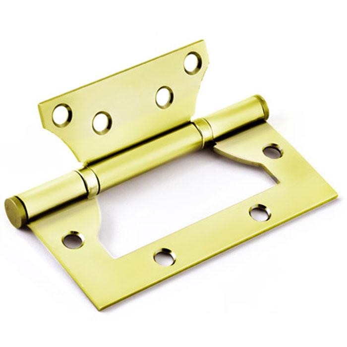 Петля дверная Palladium 2ВВ - 100, универсальная, 2 подшипника, цвет: золотой, длина 10 см