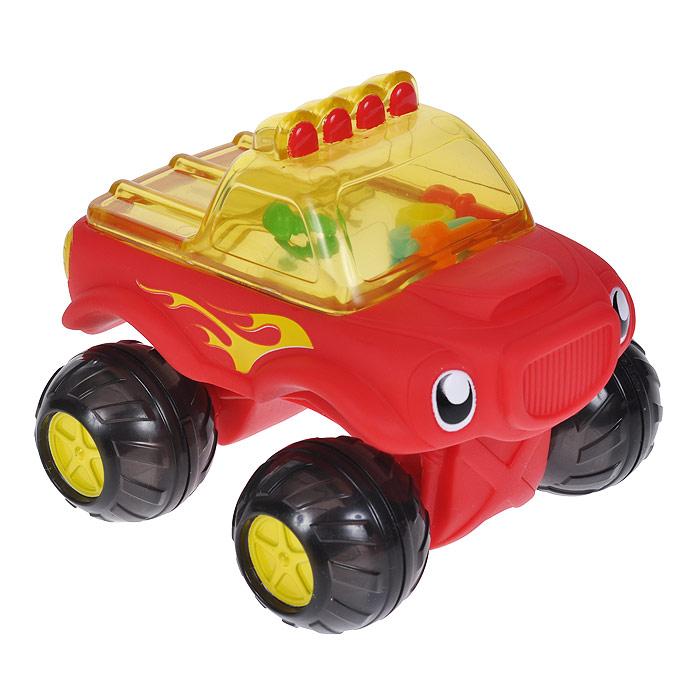 Игрушка для ванны Munchkin Машинка, в ассортименте11424Игрушка для ванны Munchkin Машинка привлечет внимание вашего малыша и превратит купание в веселую игру. Эта яркая машинка на четырех колесиках со свободным ходом может не только ездить, но и плавать в воде. В кабине грузовика находится множество цветных инструментов, которые гремят во время движения машины, их хорошо видно через прозрачное окно. Игрушка для ванны Munchkin Машинка способствует развитию воображения, цветового восприятия, тактильных ощущений и мелкой моторики рук.