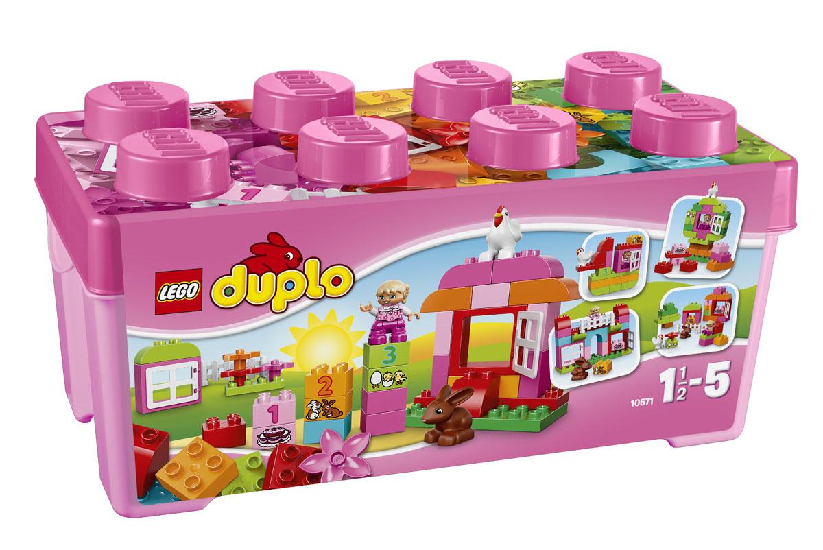 LEGO DUPLO Конструктор Лучшие друзья Курочка и Кролик 10571