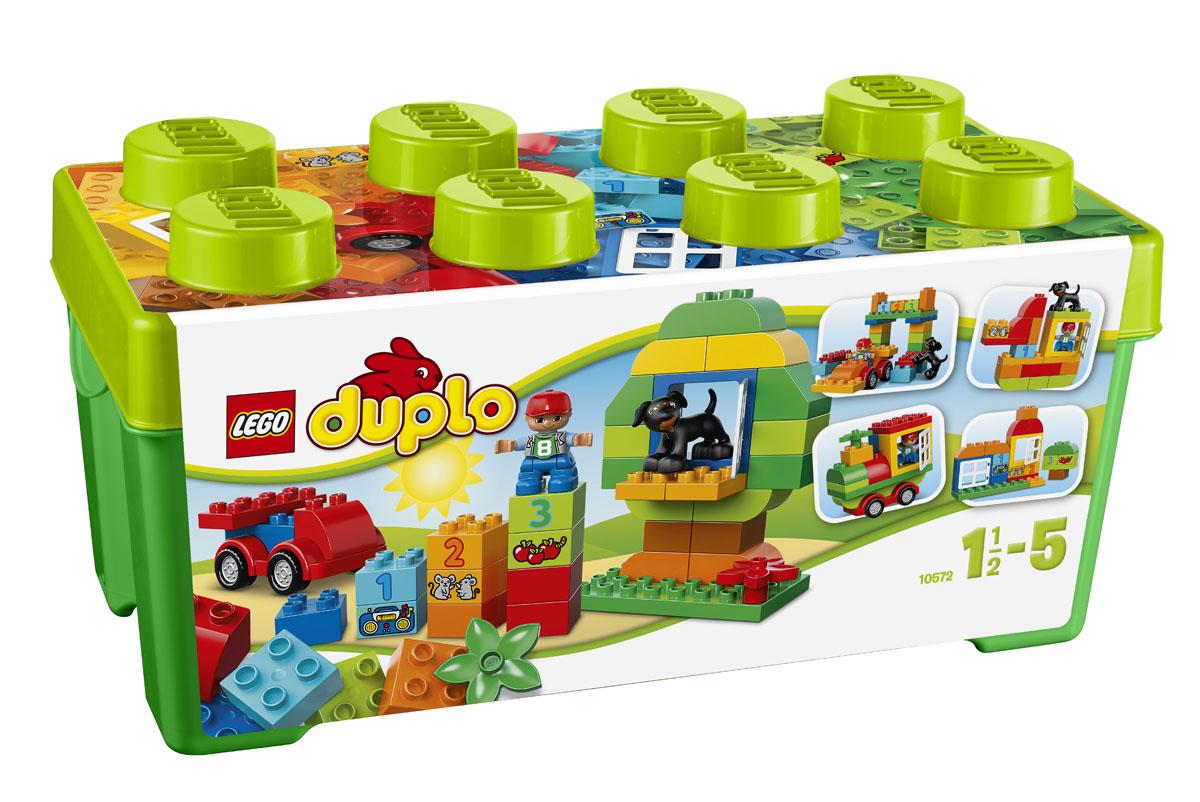LEGO DUPLO Конструктор Механик 1057210572Набор Механик серии LEGO DUPLO содержит массу кубиков для веселого строительства и развития творчества. Главный элемент набора - сборная основа машинки с закругленными краями и вращающимися колесами. Этот набор также включает в себя 2 открывающихся окна, милую собачку, кубики с цифрами и разные декорированные кубики, помогающие вашему ребенку начать учиться считать. В нем есть даже дополнительные классические кубики DUPLO, чтобы каждую игру придумывать что-нибудь новое. Набор включает в себя 65 разноцветных пластиковых элементов. Конструктор - это один из самых увлекательнейших и веселых способов времяпрепровождения. Ребенок сможет часами играть с конструктором, придумывая различные ситуации и истории. В процессе игры с конструкторами LEGO дети приобретают и постигают такие необходимые навыки как познание, творчество, воображение. Обычные наблюдения за детьми показывают, что единственное, чему они с удовольствием посвящают время - это игры. Игра - это состояние...
