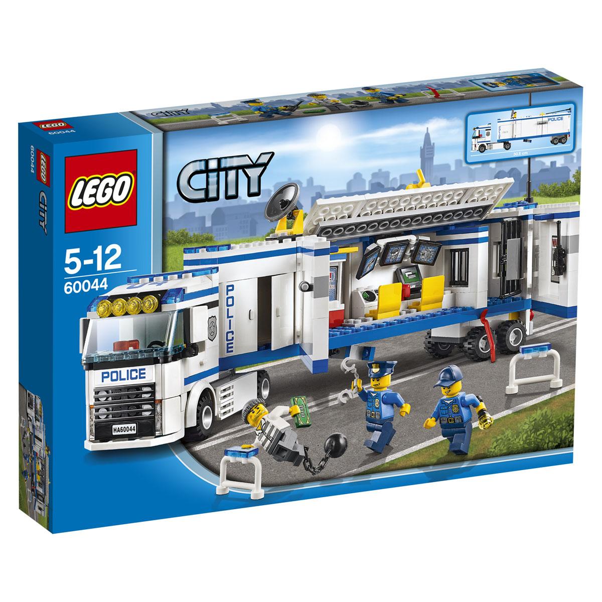 LEGO City Конструктор Выездной отряд полиции 60044