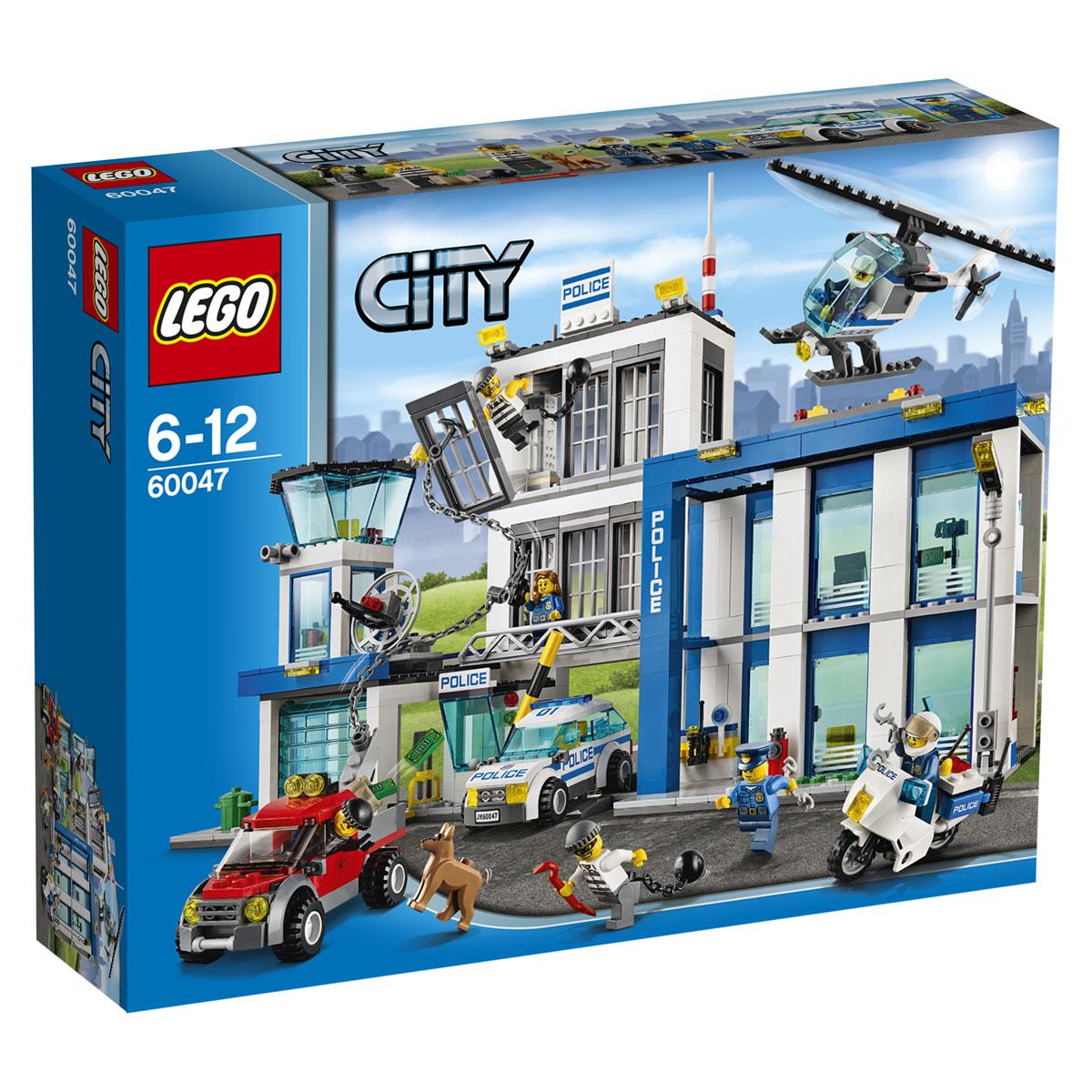 LEGO City Конструктор Полицейский участок 60047