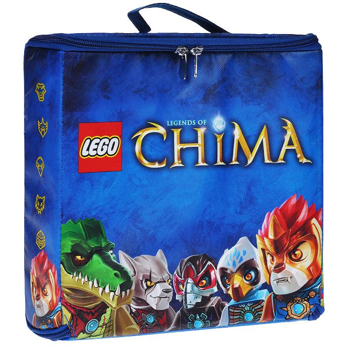 А1632ХX LEGO: Игровой коврик ZipBin Chima Carry CaseА1632ХX КоврикЯркий игровой коврик LEGO Chima непременно понравится вашему ребенку! Оригинальный коврик выполнен в виде небольшого чемоданчика, закрывающегося на застежку-молнию, в котором можно хранить свои игрушки и элементы конструктора. В открытом виде чемоданчик представляет собой игровой коврик, оформленный изображениями персонажей из серии конструкторов Lego Легенды Чимы. Ваш ребенок часами будет играть на коврике, придумывая различные истории. Порадуйте его таким замечательным подарком! Характеристики: Материал: ПВХ, текстиль, пластик. Размер коврика в сложенном виде: 27,5 см x 25 см х 6,5 см. Размер коврика в разложенном виде: 40 см х 64 см. Изготовитель: Китай.