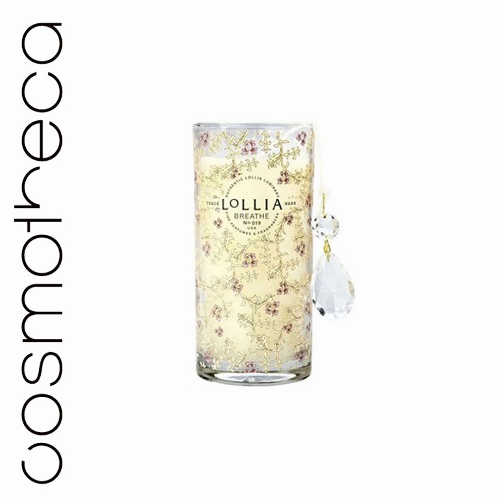 Lollia Свеча ароматизированная Дыхание, 300 гTKM10Q1BДорожная ароматизированная свеча Lollia Дыхание. Ароматические ноты: пион, белая лилия, апельсин, грейпфрут, мох, свежая зелень.