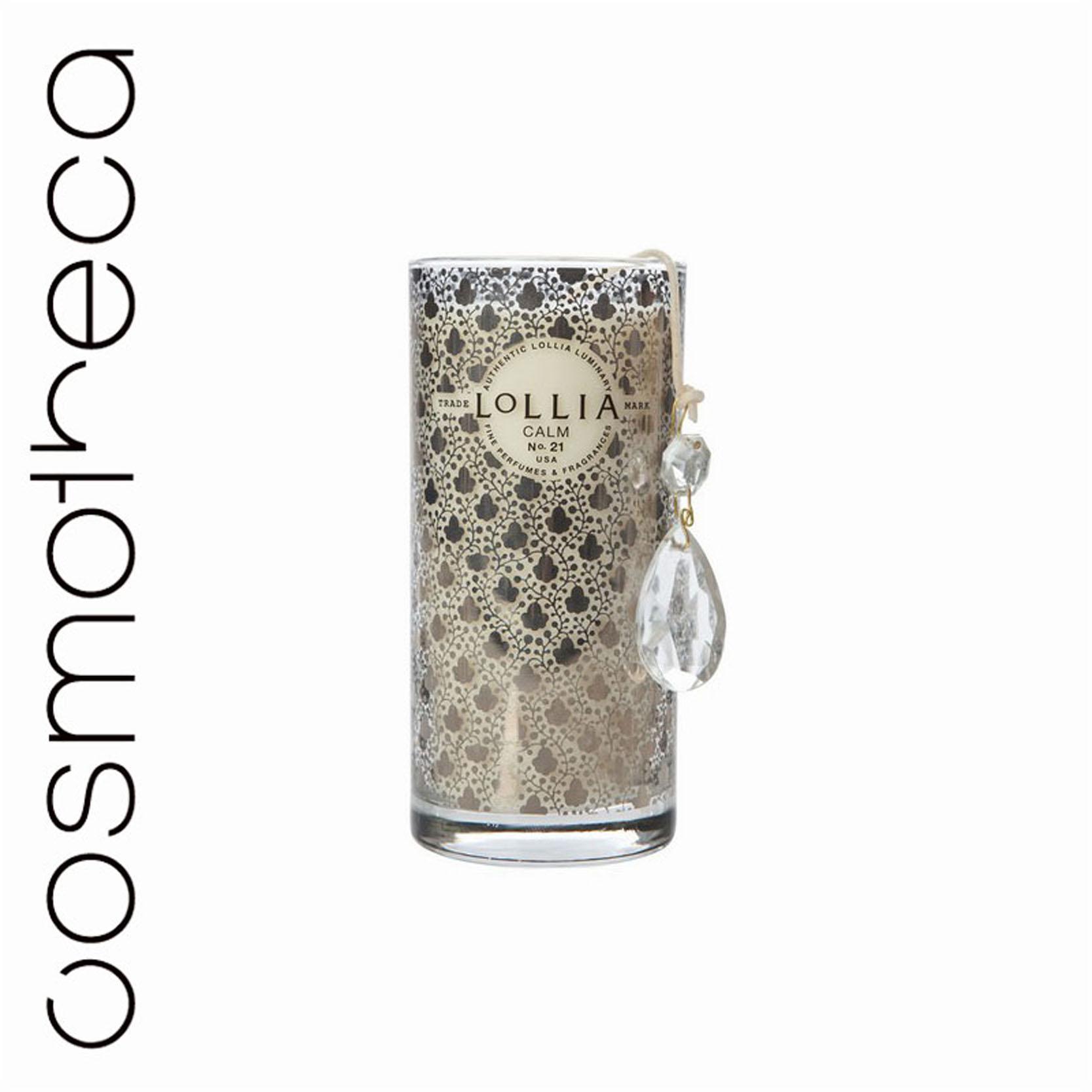 Lollia Свеча ароматизированная Покой, 300 гTKM10Q1CДорожная ароматизированная свеча Lollia Покой. Ароматические ноты: гиацинт, коренья, ветивер, ирис, цитрусовые.