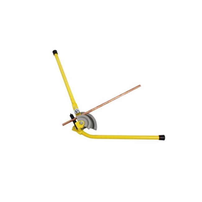 Трубогиб Stanley для медных труб. 0-70-4520-70-452Трубогиб Stanley предназначен для изгибания медных труб диаметром 12 мм, 15 мм и 22 мм. Прочные стальные ручки и ролики из поверхностно-упрочненной стали. Длинные рукоятки для большего рычага. Зажим для использования на верстаке. Выполненные с высокой точностью формеры и направляющие для исключения сминания трубы при ее изгибе.