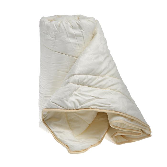 Одеяло теплое OL-Tex Шелк, наполнитель: шелковое волокно, цвет: сливочный, 140 х 205 смОШС-15-9Чехол теплого одеяла OL-Tex Шелк выполнен из благородного сатина сливочного цвета с жаккардовым рисунком. Наполнитель - шелковое волокно с полиэстером. Особенности наполнителя: - обладает высокими сорбционными свойствами, создавая эффект сухого тепла; - регулирует температурный режим; - не вызывает аллергических реакций. Шелк всегда считался одним из самых элитных и роскошных материалов. Очень нежный, легкий, шелк отлично приспосабливается к температуре тела и окружающей среды. Летом под одеялом из шелка вы чувствуете прохладу, зимой - приятное тепло. В натуральном шелке не заводится и не живет пылевой клещ, также шелк обладает бактериостатическими свойствами (в нем не размножаются патогенные бактерии), в нем не живут и не размножаются грибки и сапрофиты. Натуральный шелк гипоаллергенен и рекомендован людям с аллергическими реакциями. При впитывании шелком влаги до 30% от собственного веса он остается сухим на ощупь. Натуральный шелк не...
