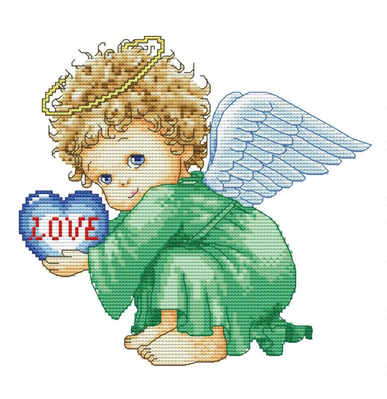 Набор для вышивания крестом Милый ангел, 30 см х 30 см571-14 Милый ангелВ наборе для вышивания крестом Милый ангел есть все необходимое для создания собственного чуда: обработанная канва Аида 14СТ белого цвета, хлопковые мулине, цветная символьная схема и инструкция по вышиванию. Красивый и стильный рисунок-вышивка, выполненный на канве, выглядит оригинально и всегда модно. Канва в наборах обработана крахмальным средством и полужесткая, что позволяет вышивать как с пяльцами, так и без них. Нитки, применяемые в наборах, изготавливаются из хлопка, гладкие, ровные, имеют стойкую окраску. Работа, сделанная своими руками, создаст особый уют и атмосферу в доме, и долгие годы будет радовать вас и ваших близких. Работа, которая отвлечет вас от повседневных забот, и превратится в увлекательное занятие!