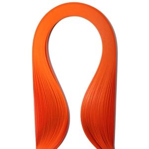 Набор бумаги для квиллинга, цвет: оранжевый, полоски 0,3 см х 30 см, 100 штAH8105031Квиллинг - искусство изготовления плоских или объемных композиций из скрученных в спиральки длинных и узких полосок бумаги. Из бумажных спиралей создают цветы и узоры, которые затем используют обычно для украшения открыток, альбомов, подарочных упаковок, рамок для фотографий. Это простой и очень красивый вид рукоделия, не требующий больших затрат. Изделия из бумажных лент можно использовать также как настенные украшения или даже бижутерию.
