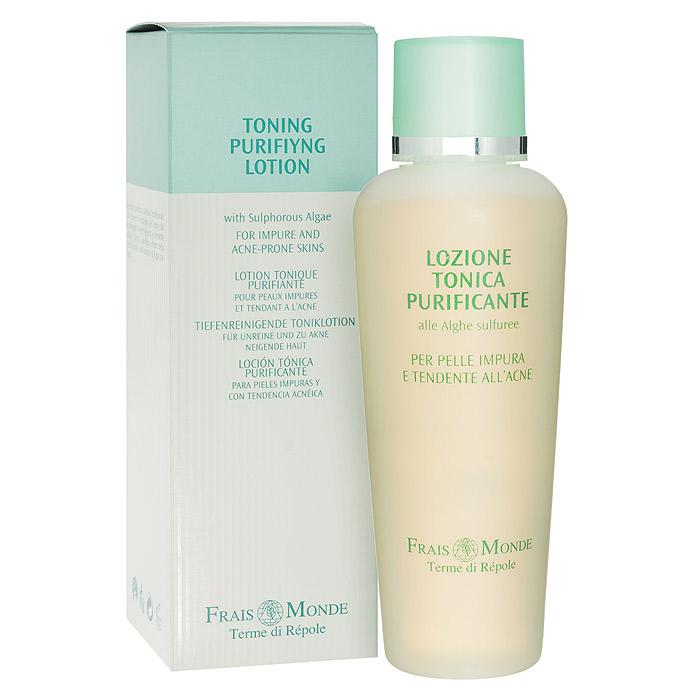 Frais Monde Лосьон-тоник для очищения и снятия макияжа, для жирной кожи, 200 мл