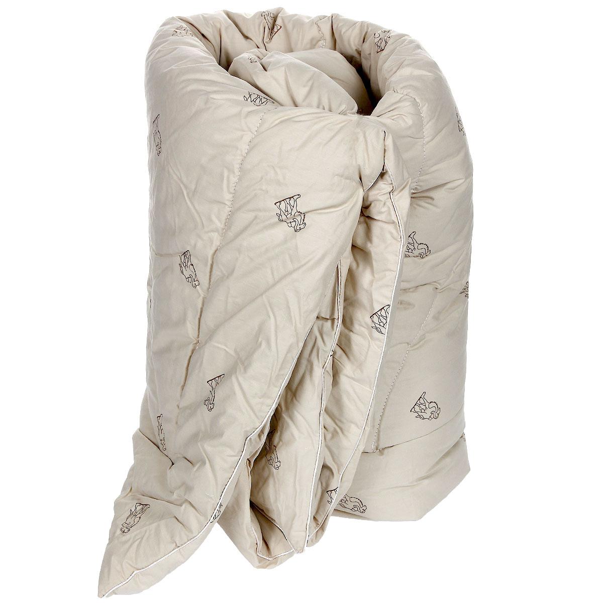 Одеяло теплое OL-Tex Верблюжья шерсть, наполнитель: верблюжья шерсть, 140 см х 205 смОВТ-15-4Чехол теплого одеяла OL-Tex Верблюжья шерсть выполнен из высококачественного плотного материала тик (100% хлопок) сливочного цвета с рисунком в виде верблюдов по всей поверхности. Наполнитель - верблюжья шерсть с полиэстером. Одеяло простегано - значит, наполнитель внутри будет всегда распределен равномерно. Особенности наполнителя: - исключительные терморегулирующие свойства; - высокое качество прочеса и промывки шерсти; - великолепные ощущения комфорта и уюта. Верблюжья шерсть - обладает целебными качествами, содержит наиболее высокий процент ланолина (животного воска), благоприятно воздействующего на организм по целому ряду показателей: оказывает благотворное действие на мышцы, суставы, позвоночник, нормализует кровообращение, имеет профилактический эффект при заболевания опорно-двигательного аппарата. Кроме того, верблюжья шерсть антистатична. Это одеяло для тех, кто любит потеплее укутаться. Прекрасное, очень теплое одеяло с эксклюзивной...
