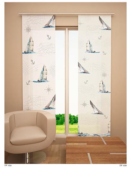 Японская панель Garden Кораблики, 60 х 270 смW678 (1985) 60х270 V140Японская панель Garden Кораблики выполнена из 100% полиэстера белого цвета с ярким принтом морской тематики. Такая панель сможет заменить обычные шторы и оригинально украсить любой интерьер - от классики до авангарда. Японская панель будет смотреться как в просторных помещениях с большими окнами, так и в маленьких комнатах такие шторы могут создать уют и комфорт. Современные японские панели позволяют оформлять не только оконные и дверные проемы, но и могут выступать в качестве декоративных перегородок: для отделения рабочей зоны, спального места, кухни и т.д. Преимущество данных штор в том, что они, как и жалюзи, занимают мало места. Конструкция позволяет их легко монтировать и снимать. Внизу панель утяжелена специальной планкой. А вверху панель крепиться на липучке к специальной жесткой планке для крепления и перемещения по карнизу. Для подвешивания японских штор необходим специальный карниз. Он представляет собой алюминиевый профиль с несколькими рядами для...