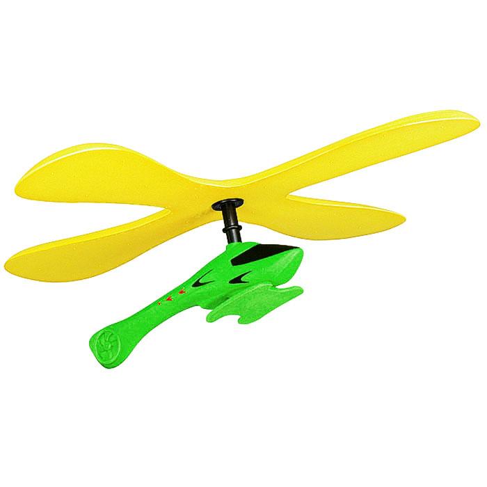Zing Бумеранг Copterang с вертолетом цвет желтый зеленый