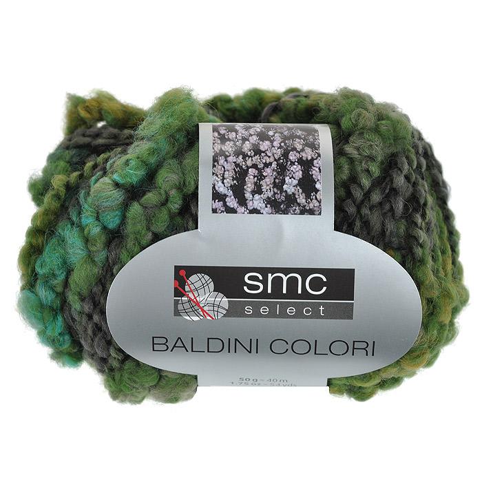 Пряжа для вязания Baldini Colori, цвет: зеленый, черный (01267), 40 м, 50 г9811737-01267Пряжа для вязания Baldini Colori изготовлена из 55% полиакрила и 45% шерсти. Эта пряжа является идеальной для вязания букле, особенно подходит для зимних моделей. Пряжа очень легко и быстро вяжется, очень мягкая и приятная на ощупь. Подходит для вязания на крючке и спицах №9.