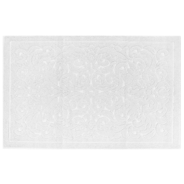 Полотенце-коврик для ванной Ravenna Carpet, цвет: Ecru (белый), 50 х 80 смRavenna Carpet EkruПолотенце-коврик для ванной Ravenna Carpet, выполненное из хлопка и бамбука, подарит массу положительных эмоций и приятных ощущений. Полотенце белого цвета, украшенное сложным жаккардом в стиле барокко, отличается нежностью и мягкостью материала, утонченным дизайном и превосходным качеством. Оно прекрасно впитывает влагу, быстро сохнет и не теряет своих свойств после многократных стирок. Рекомендации по уходу: - стирать при температуре не выше 40°С; - не отбеливать; - гладить при температуре не выше 110°С; - не подвергать химчистке; - не выжимать и не сушить в стиральной машине.