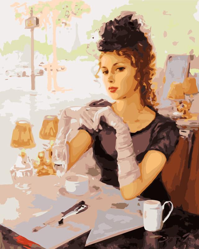 Живопись на холсте В парижском кафе, 40 х 50 см535-CG В парижском кафеЖивопись на холсте В парижском кафе - это набор для раскрашивания по номерам акриловыми красками на холсте. В набор входят: - холст на подрамнике с нанесенным рисунком, - пробный лист с нанесенным рисунком, - набор акриловых красок, - кисти, - настенное крепление для готовой картины. Каждая краска имеет свой номер, соответствующий номеру на картинке. Нужно только аккуратно нанести необходимую краску на отмеченный для нее участок. Таким образом, шаг за шагом у вас получится великолепная картина. С помощью серии наборов Живопись на холсте вы можете стать настоящим художником и создателем прекрасных картин. Вы получите истинное удовольствие от погружения в процесс творчества и созданные своими руками картины украсят интерьер вашего дома или станут прекрасным подарком. Техника раскрашивания на холсте по номерам дает возможность легко рисовать даже сложные сюжеты. Прекрасно развивает художественный вкус, аккуратность и внимание....