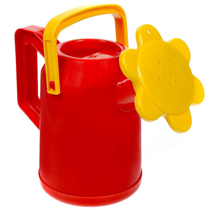 Лейка детская Plasto, цвет: красный2225_красныйЯркая детская лейка Plasto, несомненно, привлечет внимание вашего ребенка, и он с большим удовольствием будет ей поливать. Она изготовлена из прочного пластика красного и желтого цветов, распылитель выполнен в виде цветка. Лейка снабжена двумя ручками: с помощью одной удобнее поливать, а с помощью другой - нести лейку. Теперь у вас появится настоящий помощник, который поможет ухаживать за растениями, как дома, так и на приусадебном участке. Характеристики: Размер лейки: 23 см x 11 см x 19 см. Объем лейки: 1 л.
