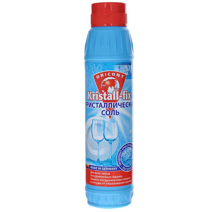 Кристаллическая соль Luxus Professional Kristall-fix для всех типов посудомоечных машин, 1кг40155Кристаллическая соль Luxus Professional Kristall-fix изготовлена на основе натуральной соли. При использовании растворяется без остатка. Защищает нагревательные элементы от повреждений накипью и продлевает срок службы посудомоечных машин. Характеристики: Объем: 1 кг. Артикул: 40155. Изготовитель: Германия. Товар сертифицирован.