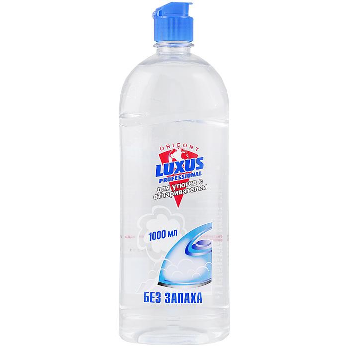 Вода для утюгов с отпаривателем Luxus Professional Без запаха, 1 л25025Парфюмированная вода для утюгов с отпаривателем Luxus - высокоэффективное средство для облегчения глажения различных видов тканей. Регулярное использование продлит срок службы Вашего утюга и избавит бельё от появления пятен при отпаривании. Экологически чистый продукт. Способ применения: залейте парфюмированную воду в специальную емкость для жидкости утюга с отпаривателем согласно инструкции по эксплуатации. Не смешивать с обычной водой. Хранить флакон плотно закрытым. После глажения остатки средства из утюга не выливать обратно во флакон. Меры предосторожности: Употребление в качестве питьевой воды запрещено! Характеристики: Размер емкости: 8,5 см х 7,2 см х 27 см. Размер упаковки: 8,5 см х 7,2 см х 27 см. Состав: дистилированная вода, консервант (