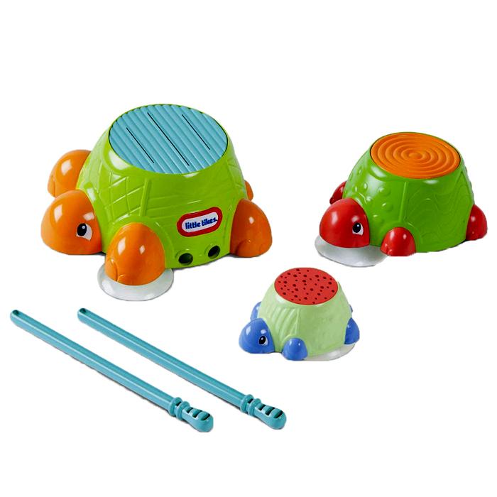 """Игровой набор для ванны Little Tikes """"Черепашки-барабаны"""""""