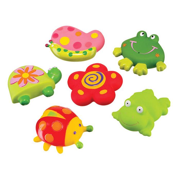 Игровой набор для ванны Happy Baby «Веселый пруд», 6 предметов
