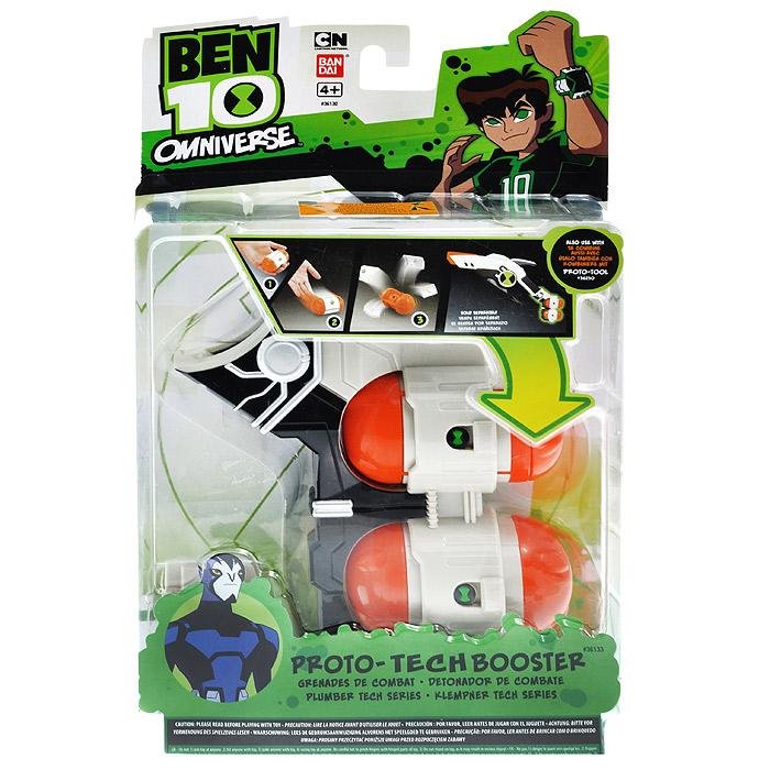 Набор гранат Ben10, 2 шт36133Набор гранат Ben10 позволит вашему ребенку почувствовать себя во всеоружии. Они выполнены из прочного пластика бежевого и оранжевого цветов. В комплект входят две гранаты и держатель для них. В одной из гранат можно установить таймер, в заданное время она взорвется с характерным звуком. Другая - послужит контейнером для фигурок. Порадуйте своего ребенка таким замечательным подарком! Десятилетний Бен Теннисон случайно нашел инопланетный прибор Омнитрикс, похожий на наручные часы, при помощи которого он может превращаться в одного из 10 супергероев космоса с различными уникальными способностями. Он становится защитником планеты Земля, сражаясь с преступниками и инопланетными захватчиками.
