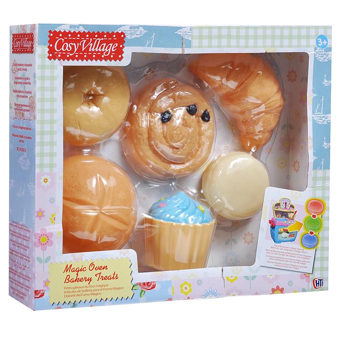 Игровой набор Набор кондитерских изделий, 6 предметов1680443.00Игровой набор Набор кондитерских изделий заинтересует вашу малышку и не позволит ей скучать. В набор входят шесть элементов, выполненных из безопасного пластика в виде вкусных шедевров: круассана, пирожного, пончика, тарталетки с клубничкой, двух булочек и свежего хлеба. Ваша маленькая сладкоежка сможет организовать для кукол вкусное чаепитие или открыть свой собственный кондитерский магазин прямо дома. Порадуйте ее таким замечательным подарком!