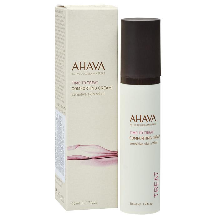Ahava Успокаивающий крем для лица, для чувствительной кожи, 50 мл ahava набор duo deadsea mud набор дуэт