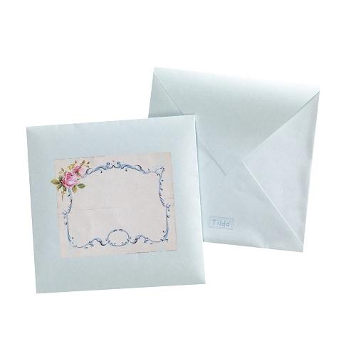 Декоративные конвертики с рамкой Tilda, 5 шт. 480536480536Декоративные конвертики с рамкой Tilda прекрасно подойдут для оформления творческих работ в технике скрапбукинга. Их можно использовать для оформления письма или открытки.