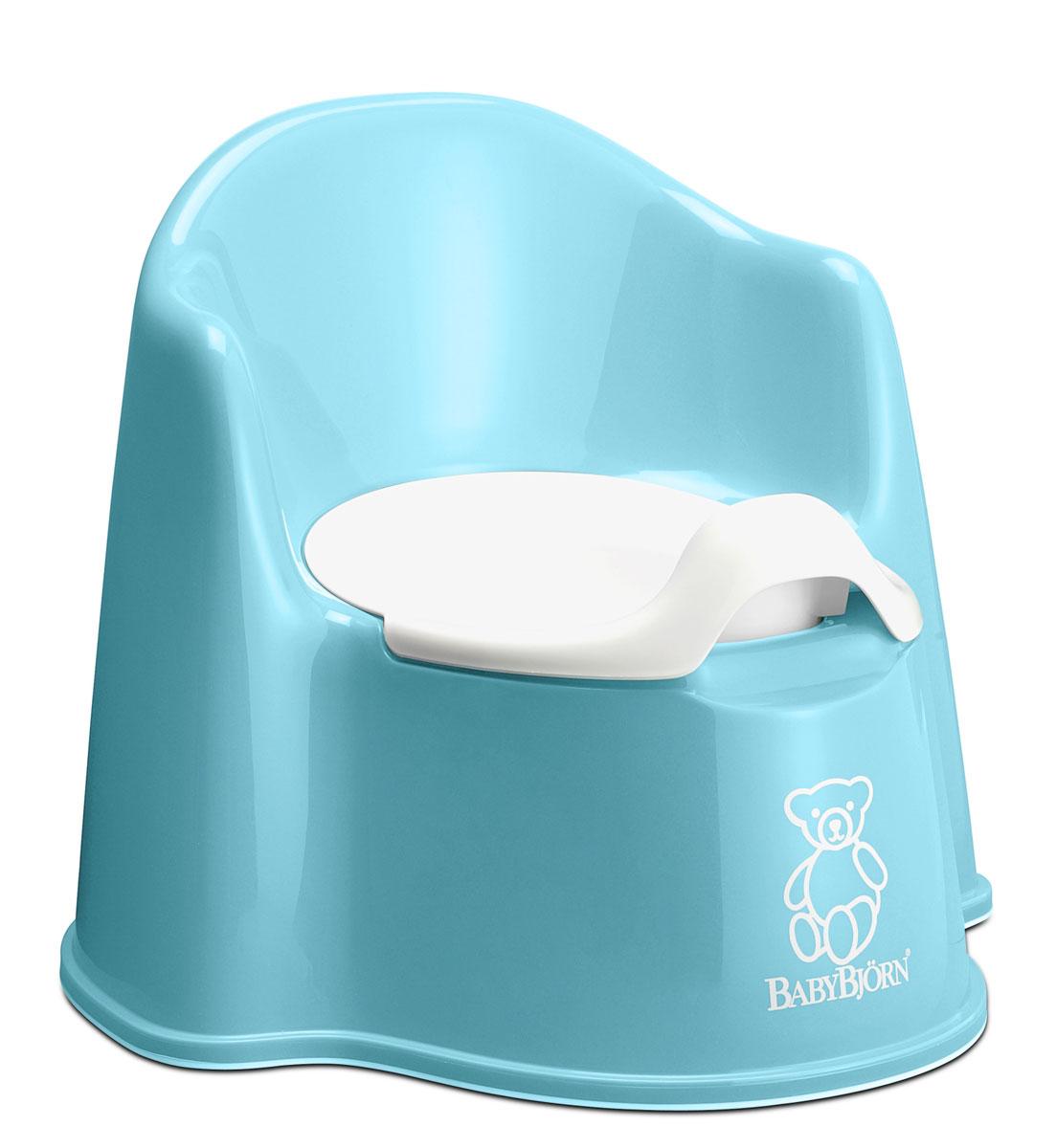 """Горшок-кресло """"BabyBjorn"""", цвет: бирюзовый 0551,13"""