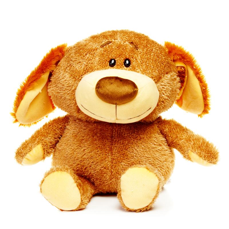 Мягкая игрушка Malvina Собачка Бумс, 35 смML-45.3.1Очаровательная мягкая игрушка Собачка Бумс, выполненная в виде забавной коричневой собачки из искусственного меха, вызовет умиление и улыбку у каждого, кто ее увидит. Она станет замечательным подарком, как ребенку, так и взрослому. Необычайно мягкая, она принесет радость и подарит своему обладателю мгновения нежных объятий и приятных воспоминаний. На протяжении 20 лет компания «Malvina» создает прекрасное настроение как у детей, так и у взрослых, стремясь разнообразить мир детских игр, сделать его ярче, добрее и уютнее. Игрушки компании «Malvina» - это добрые друзья, которые всегда рядом. Они хранят заботу и любовь близкого Вам человека. Характеристики: Высота игрушки: 35 см. Материал: искусственный мех, текстиль. Набивка: синтепон. Размер упаковки: 32 см x 32 см x 38 см.