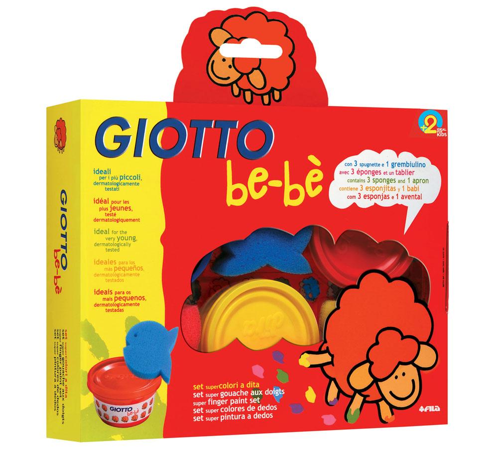 Набор пальчиковых красок Giotto