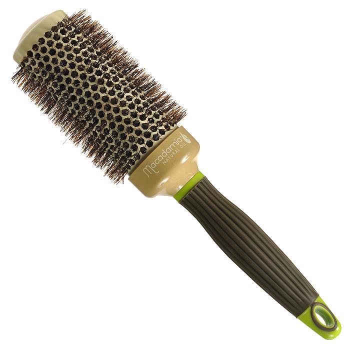 Macadamia Natural Oil Брашинг, 4,3 смММ32Брашинг Macadamia Natural Oil предназначен для укладки длинных и густых волос. Отлично подходит для создания объема у корней, придания формы, как при выпрямлении, так и при создании локонов. Основа с керамическим покрытием. 100% натуральная щетина. Характеристики: Материал: щетина, керамика, пластик. Диаметр брашинга: 4,3 см. Производитель: США. Товар сертифицирован.