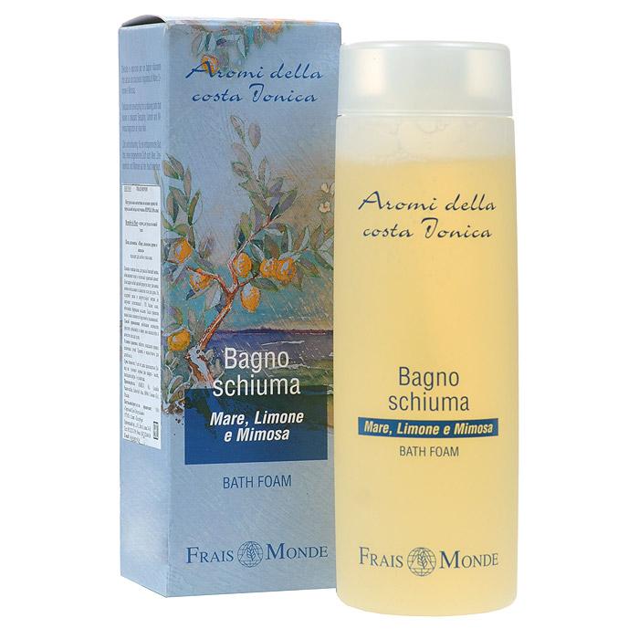 Frais Monde Гель для душа - Пена для ванны, с ароматом моря, лимонного дерева и мимозы, 200 мл FMFBD01